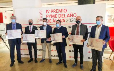 BK ETL Global galardonado en los premios PYME del Año de Álava 2020