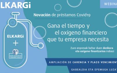 Novación de préstamos COVID-19 de Elkargi