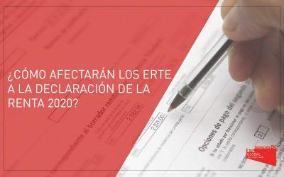 ¿Cómo afectarán los ERTE a la Declaración de la Renta 2020?
