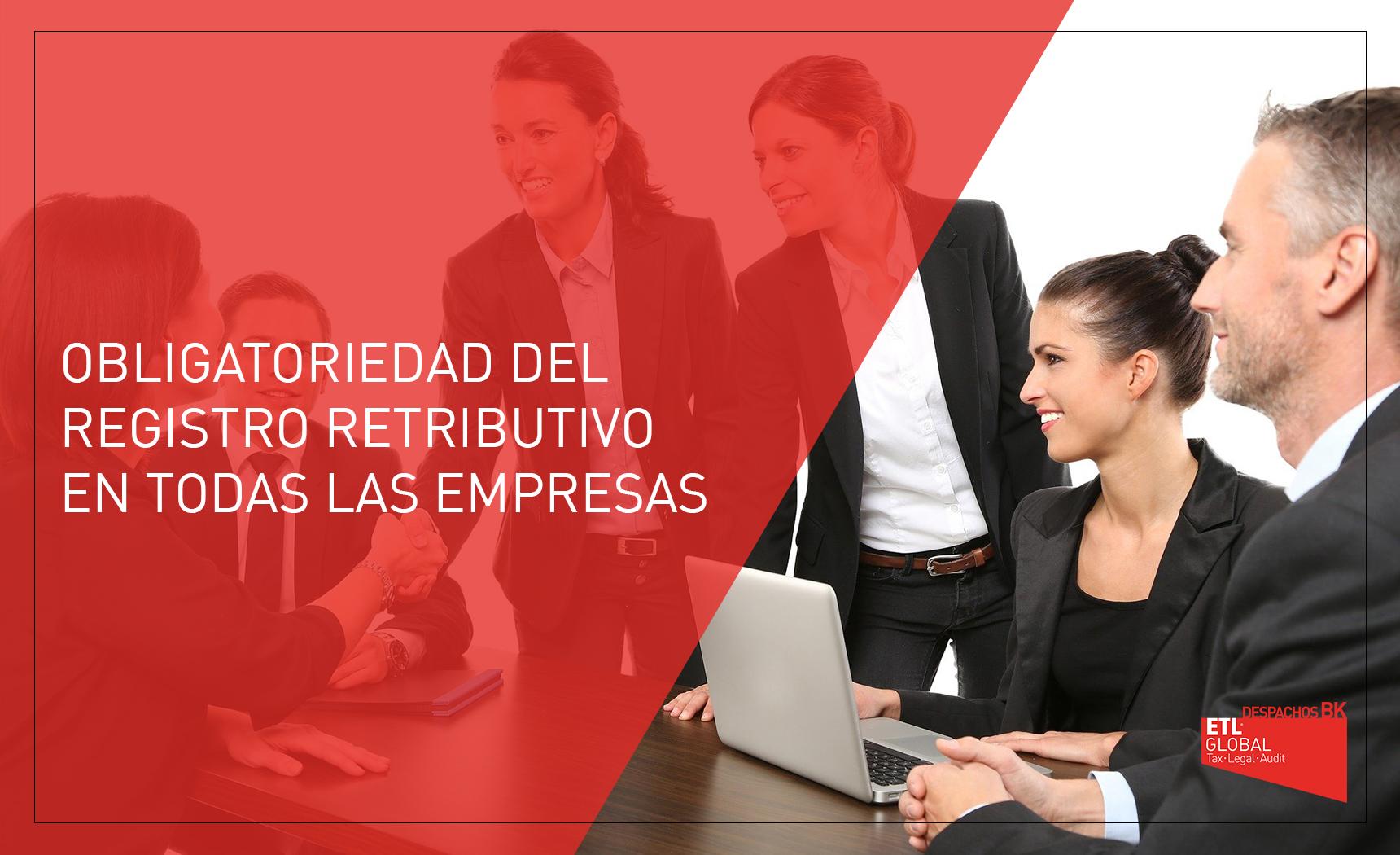 Registro retributivo o salarial obligatorio en las empresas