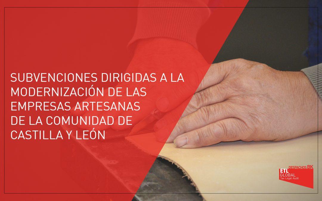 Subvenciones dirigidas a empresas artesanas en Castilla y León