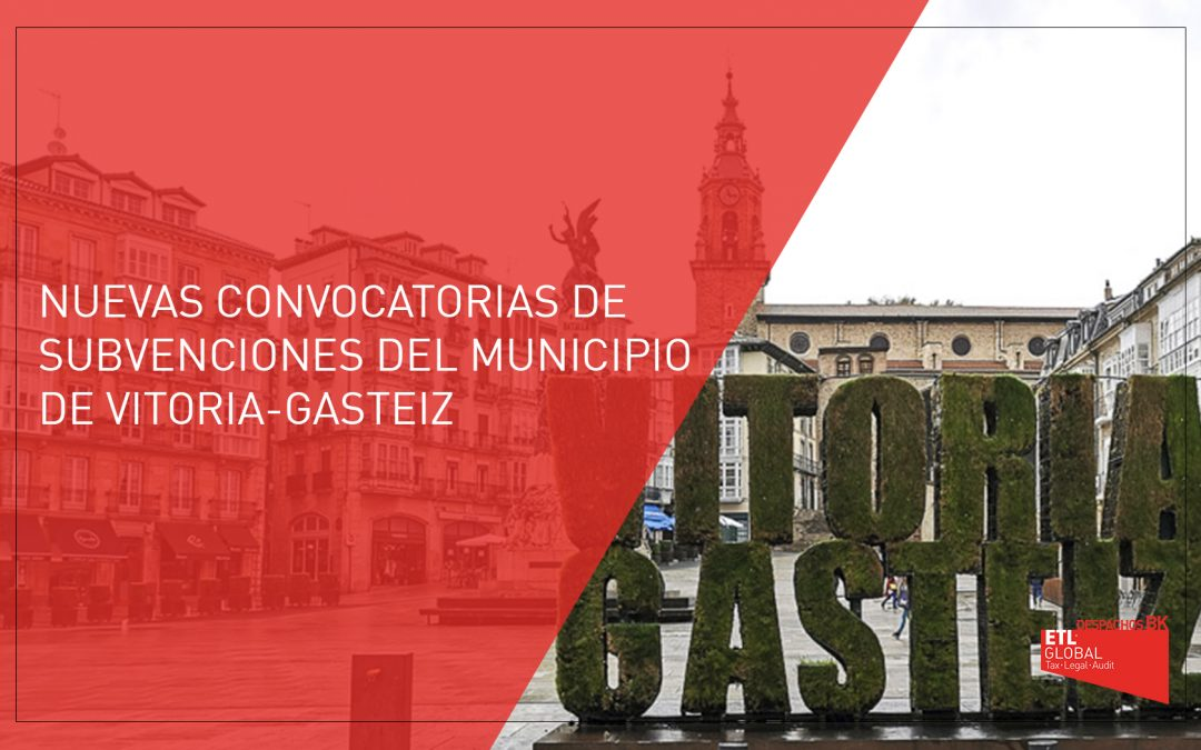 Convocatoria de Ayudas del término municipial de Vitoria-Gasteiz