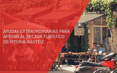 Convocatoria de ayudas extraordinarias para apoyar al sector turístico de Vitoria-Gasteiz
