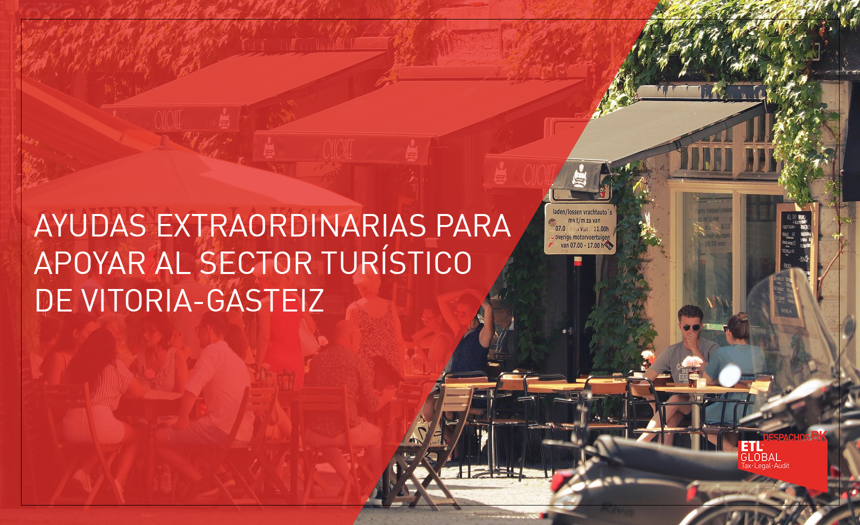 ayudas sector turístico Vitoria-Gasteiz 2021