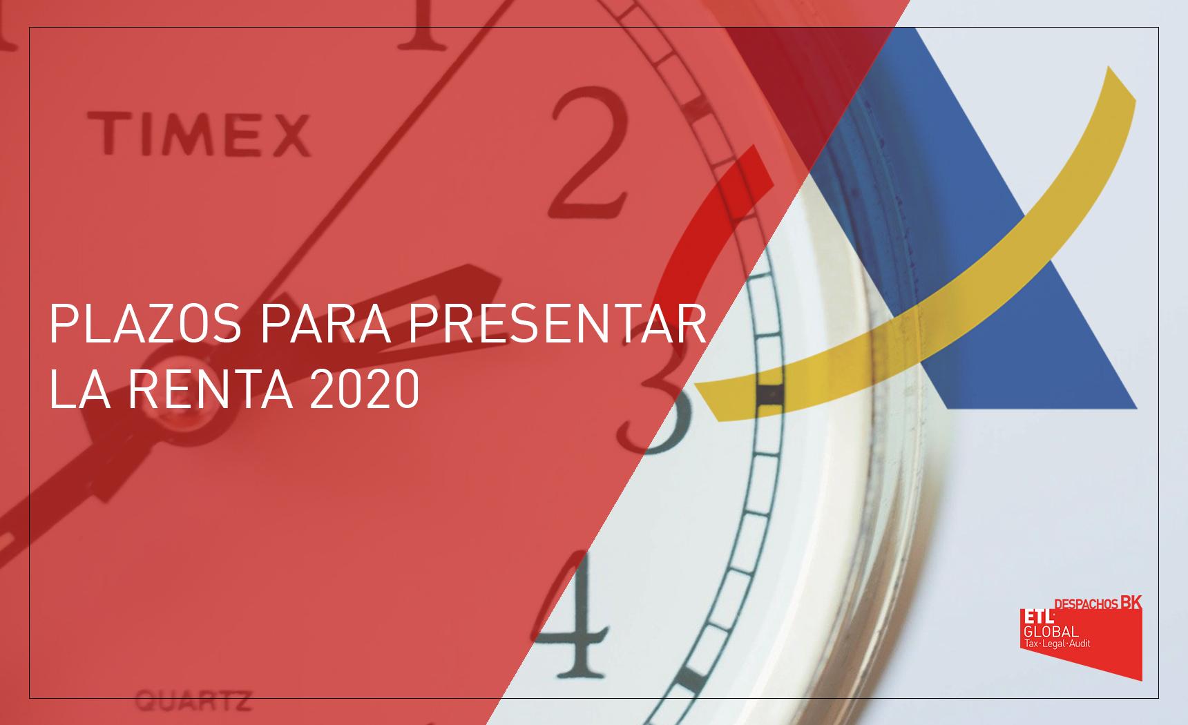 plazos renta 2020