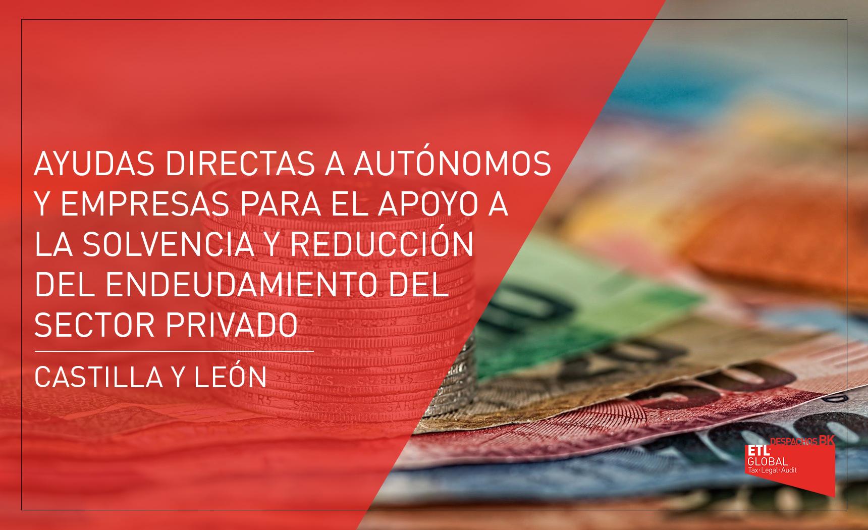 Ayudas autónomos y empresas de Castilla y León