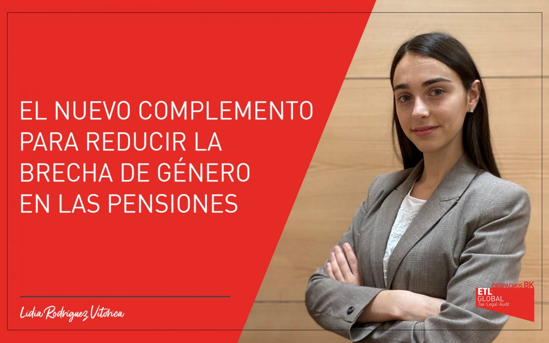 El nuevo complemento para reducir la brecha de género en las pensiones