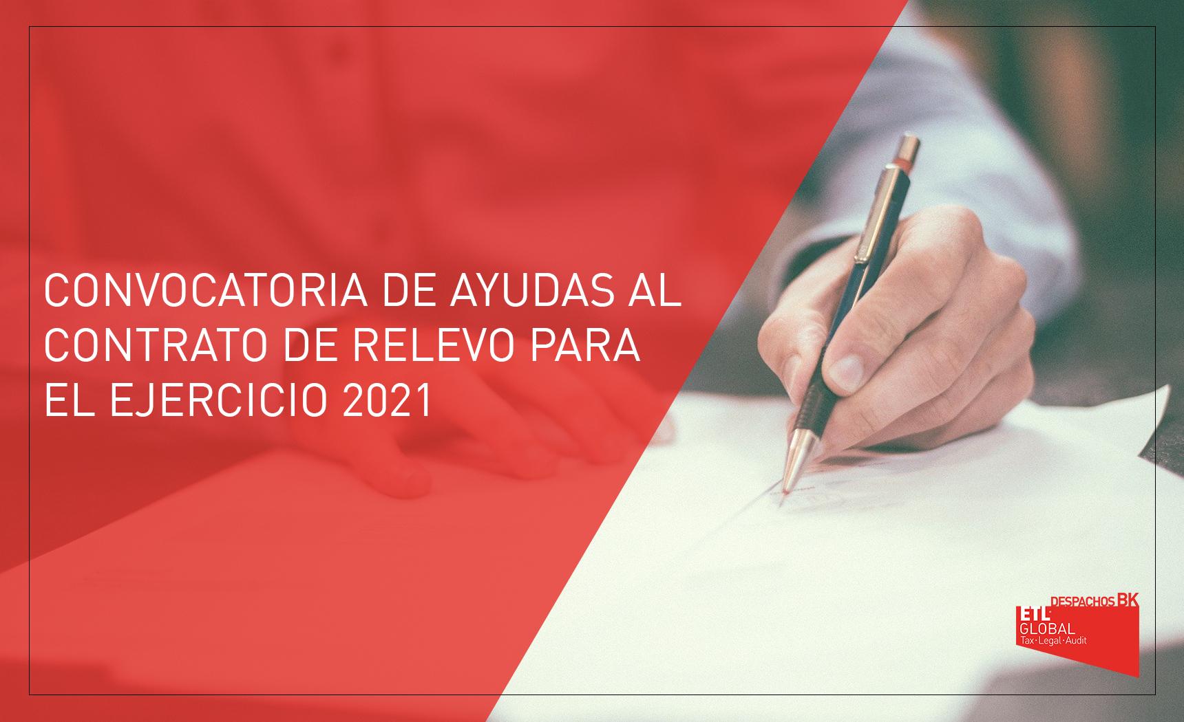 ayudas al contrato de relevo 2021