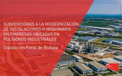 Subvención para la modernización de instalaciones o maquinaria en empresas ubicadas en polígonos industriales