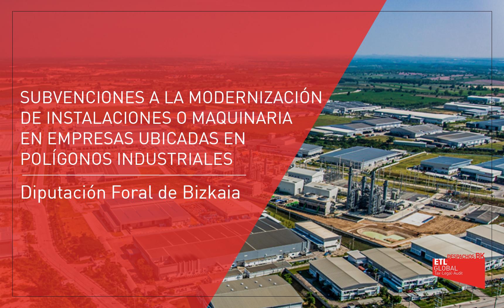 subvención polígono industrial Bizkaia