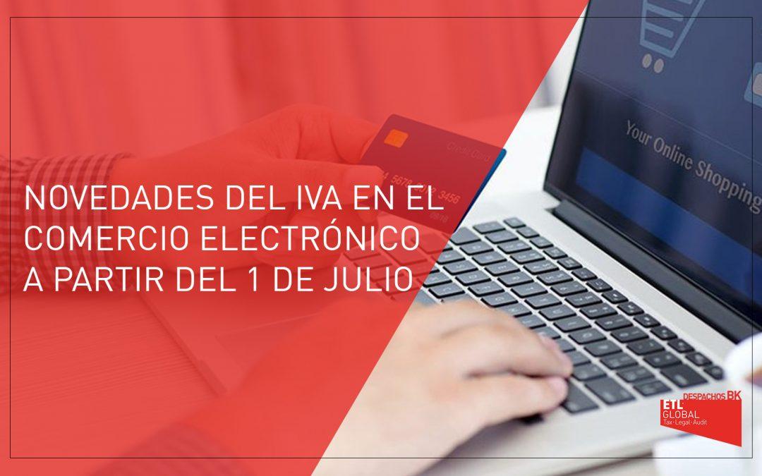 Novedades del IVA para el comercio electrónico a partir del 1 de julio de 2021