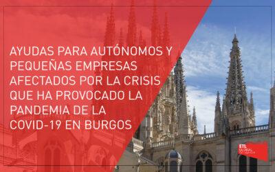 Subvenciones para autónomos y pequeñas empresas del término municipal de Burgos