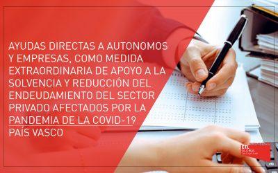 Ayudas directas a autónomos y empresas   Gobierno Vasco
