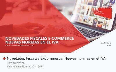 Jornada Online: Novedades Fiscales E-Commerce. Nuevas normas en el IVA