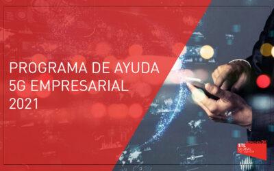 Programa de ayuda 5G empresarial 2021 | País Vasco