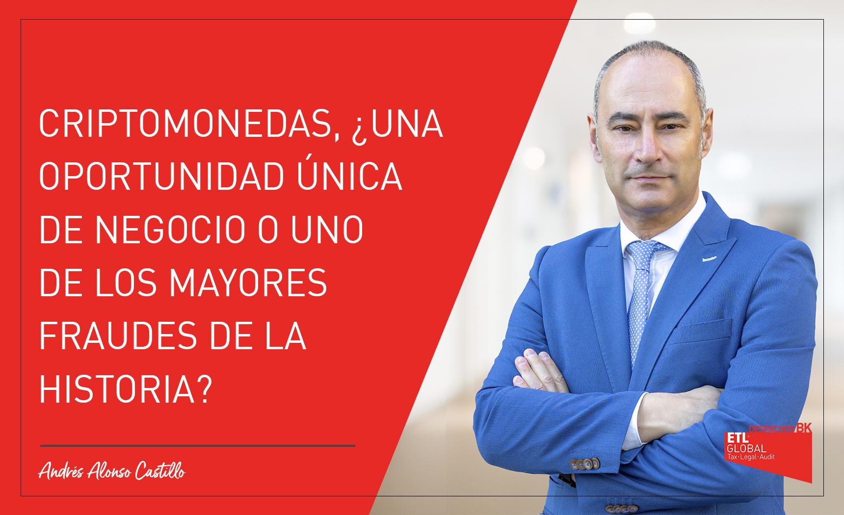 Criptomonedas - Andrés Alonso Castillo