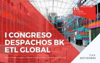I Congreso Despachos BK ETL Global