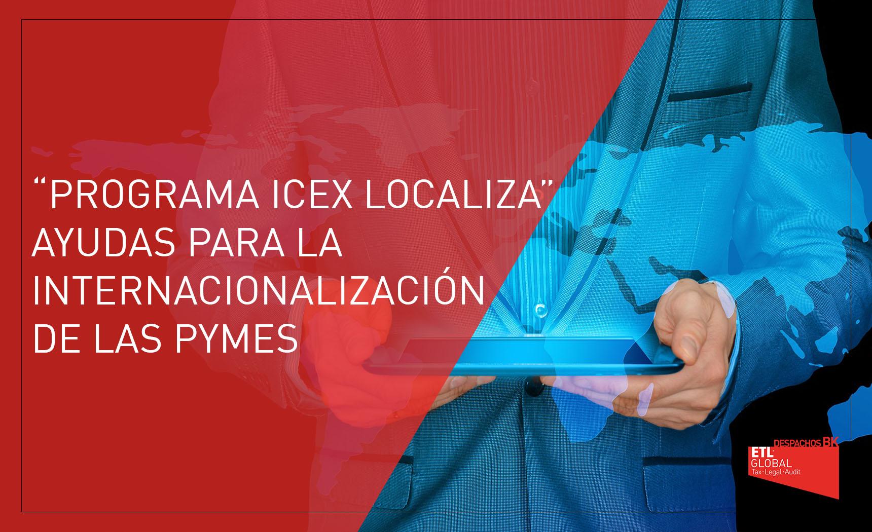 programa icex localiza