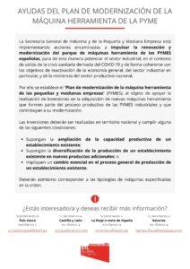Ayudas modernización Pymes