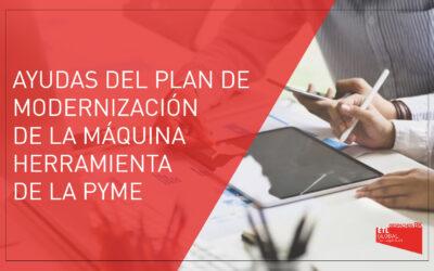 Ayudas del plan de modernización de la maquina herramienta de las PYMES